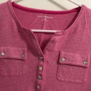 Dresses & Skirts - Croft &Barrow 3/4 sleeve shirt
